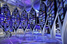 Samsung #exhibitdesign #display #eventprofs Exhibition Stall, Exhibition Display, Trade Show Booth Design, Display Design, Led Video Wall, Environmental Graphic Design, Showroom Design, Stage Set, Digital Signage