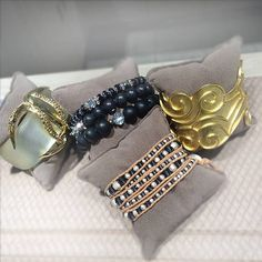 A girl can never have too much jewelry! Alexis Bittar, #CornellsCollection, Chan Luu, and Stephanie Kantis