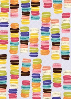 Macarons wrapping paper - Paper Source