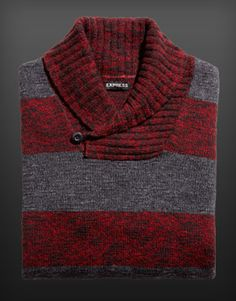 Holiday is on! I just found Rugby Stripe Shawl Collar Sweater on the #EXPRESSLIFE Gift Guide:  http://express.com/giftguide #ExpressHoliday
