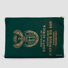 South Africa - Passport Pouch Bag