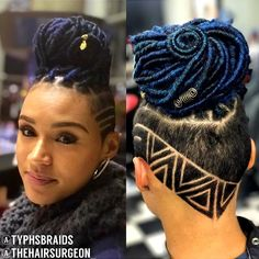 10 Braided Protective Styles to Wear This Summer - Voice of Hair Shaved Side Hairstyles, Undercut Hairstyles, Girl Hairstyles, Braided Hairstyles, Wedding Hairstyles, Braids With Shaved Sides, Half Shaved Hair, Curly Hair Styles, Natural Hair Styles