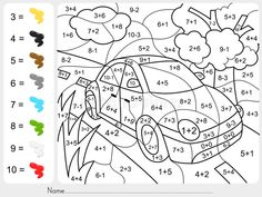 Coloring Math Activities for Middle School Best Of Grade Math Coloring Pages.Coloring Math Activities for Middle School Best Of Grade Math Coloring Pages – Redbirdcolor. Coloring Worksheets For Kindergarten, Addition And Subtraction Worksheets, 1st Grade Math Worksheets, Math Addition, 2nd Grade Math, Number Worksheets, Grade 1, Sixth Grade, Second Grade