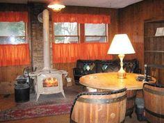 Retro retro retro! Love barrel furniture!
