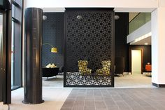 Architectural laser cut screens for hotels, bars and restaurants and any architectural interior We create beautiful interiors and architecturally innovative spaces. Laser Cut Metal, Laser Cutting, Laser Cut Screens, Tv Wall Decor, Wall Patterns, Commercial Interiors, Beautiful Interiors, Interior Design Inspiration, Home Organization