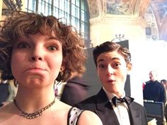 """Camren Bicondova on Twitter: """"Here's a little behind the scenes fun from tonight's Gotham with  David Mazouz"""