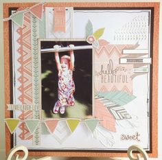 The Craftz Boutique: 'Bow & Arrow'. 'Bow and Arrow' is a brand new July release by Kaiser Craft Scrapbook Journal, Baby Scrapbook, Scrapbooking Layouts, Digital Scrapbooking, Bow Arrows, Cardmaking, Projects To Try, Paper Crafts, Bows
