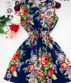 I love at least 6 of the patterns this dress comes in!