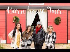 Christmas Barn House Tour