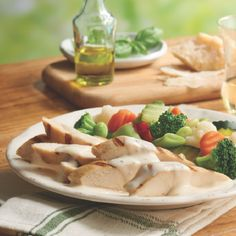 Mix and Match Creations™ Recipes:  Roasted Garlic Chicken and Italian Vegetables