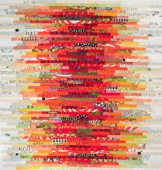 Karen Griska Quilts: The Stacks Quilt Pattern, Orange Version