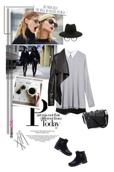 """""""Street Style"""" by pippi-loves-music ❤ liked on Polyvore featuring Abercrombie & Fitch, HIDE, See Concept and Forever 21"""