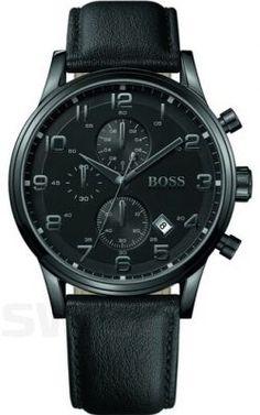 13447dcc5736b Hugo Boss 1512567 - Zegarek męski - Sklep internetowy SWISS Montre Homme  Noir