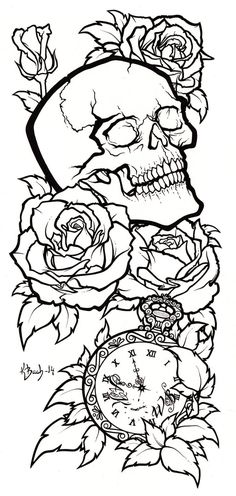 Skull Tattoo Design Lineart by BlueUndine on DeviantArt - Skull Tattoo Design L. - Skull Tattoo Design Lineart by BlueUndine on DeviantArt – Skull Tattoo Design Lineart by BlueUnd - Cat Skull Tattoo, Bull Skull Tattoos, Sugar Skull Tattoos, Body Art Tattoos, Lion Tattoo, Floral Skull Tattoos, Skull Thigh Tattoos, Skull Sleeve Tattoos, Tattoo Wolf