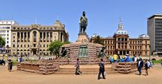 The Krüger monument in the central place in Pretoria, South Africa Famous Buildings, Pretoria, African History, Afrikaans, Museums, South Africa, Street View, Country, City
