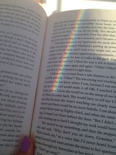 Reading Extremely Loud and Incredibly Close and this happens !