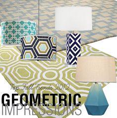 2012 Fall Trend Geometric Impressions