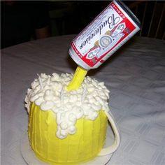 21st Birthday cake-decorating
