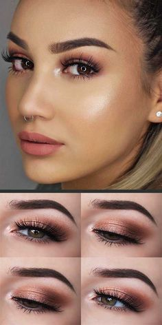 Summer Makeup For Brown Eyes Brunettes Summer Makeup For Brown