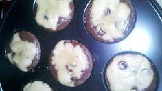 Mini brownie cookie bites (still baking)