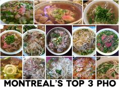 montreal best pho -  35 bowls to find the top 3!