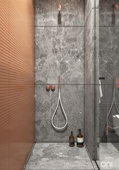 VAREZHKI HOUSE on Behance 3d Bathroom Design, Restroom Design, Bathroom Layout, Best Interior Design Apps, Small House Interior Design, Home Interior, Grey Marble Bathroom, Hotel Design Architecture, Toilet Tiles
