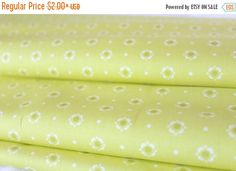 Clearance Sale Bloomery Citronelle  Dreamin' by FabricCadabra