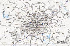 Stafford County - Virginia Zip Code Boundary Map (VA) | Zip Code ...