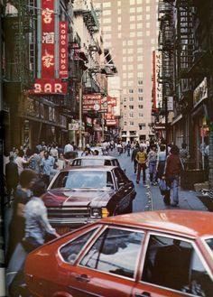 Chinatown, New York City, 1970s