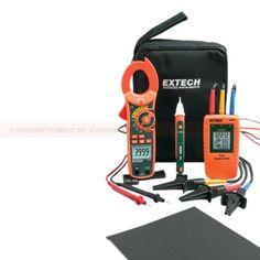 http://handinstrument.se/multimeter-r742/fasfoljd-stromtang-provuppstallning-53-MA640-K-r811 Fasföljd / strömtång provuppställning Kittet innehåller: MA640 - 600A Sann RMS 6000 räknas AC / DC Clamp-on multimeter med inbyggd beröringsfri AC spänningsdetektor, leder test-och temperaturgivare 480.400 till 3-fas rotation Tester med flera rader LCD-display, slitstarka dubbel-gjuten instrumenthus och lätt att öppna breda käken krokodilklämmor DV25 - Dual Range AC Voltage Detector...
