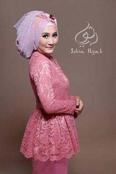 Peplum kebaya hijab