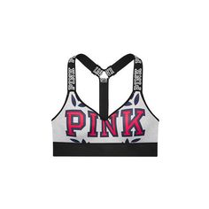 Wear Everywhere Push-Up Sports Bra - Victoria's Secret ($37) ❤ liked on Polyvore featuring activewear, sports bras, push up sports bra, victoria secret sportswear, pushup sports bra, victoria secret activewear and victoria's secret