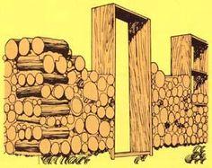 Cordwood construction: