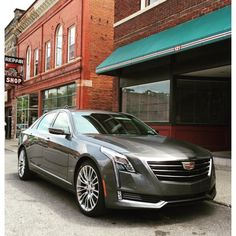 CT6 caught in the wild. #Cadillac #CT6