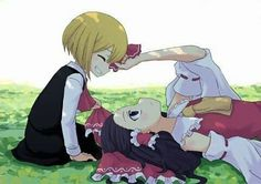 Rumia x Reimu Gifted Kids, Old Games, Anime Couples, Cute Girls, Baby Car Seats, Disney Characters, Fictional Characters, Fan Art, Disney Princess