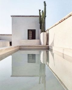 my scandinavian home: Could You Imagine Staying In This Dreamy Riad in Marrakech? Studio Interior, Home Interior, Interior And Exterior, Outdoor Spaces, Outdoor Living, Mediterranean Decor, Scandinavian Home, Spanish Style, Exterior Design