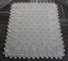 Opskrift Elizabeth Barnevognstæppe PDF til download Manta Crochet, Diy Crochet, Crochet Baby, Baby Knitting Patterns, Crochet Patterns, Handmade Baby Blankets, Baby Afghans, Vintage Knitting, Baby Wearing