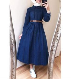 The very word conjures up images of gorgeous Muslim girls with pretty sca Modern Hijab Fashion, Hijab Fashion Inspiration, Abaya Fashion, Muslim Fashion, Modest Fashion, Fashion Dresses, Casual Dresses, Maxi Dresses, Hijab Style Dress