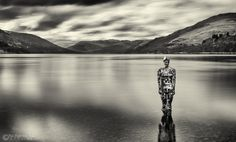 "https://flic.kr/p/FLvhEF | Still | ""Still"" is the name of the sculpture by Rob Mulholland which sits within the water of Loch Earn at St Fillans."