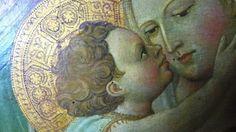 Giovanni dal Ponte - Madonna col Bambino in trono, dettaglio - 1425 ca. - Galleria dell'Accademia, Firenze