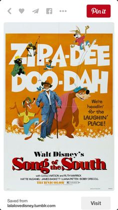 Song Of the south Movie - Watch song Of the south Movie , 24 Best song Of the south Images Disney Songs, Disney Films, Disney Art, Disney Pixar, Disney Stuff, Movie Songs, Movie Tv, Nature Film, Song Of The South