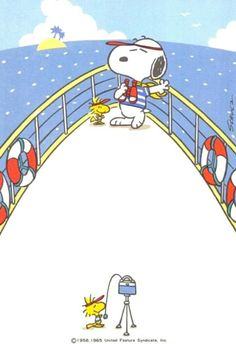 Can't wait to get out on the boat again! Snoopy and Woodstock Peanuts Snoopy, Snoopy Cafe, Snoopy Und Woodstock, Peanuts Cartoon, Charlie Brown And Snoopy, Snoopy Comics, Snoopy Images, Snoopy Pictures, Wallpaper Bonitos