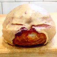 Peanut Butter & Sovereign Grape Jelly Doughnut