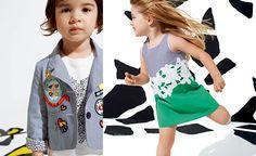 DVF Gap Kids- love the green dress & blazer