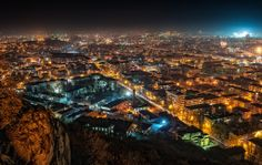 Plovdiv night view - Petar Shipchanov