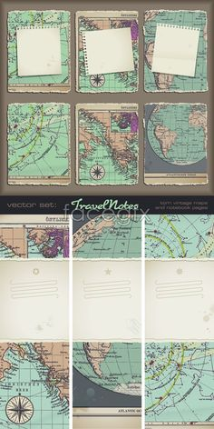 Broken world map vector