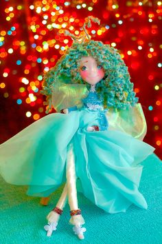 Valentines day gift doll OOAK fairy doll kids toy doll play