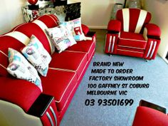 EYE-CATCHING DESIGNS FULLY SPRUNG SEAT,S BACK,S ARM,S ANDCUSHIONS SOLID TIMBER FRAME HIGH-QUALITY FOAM ALL LOUNGE SUITES COME WITH A LIFETIME STRUCTURAL GUARANTEE LARGE RANGE OF FABRICS TO CHOOSE FROM DIMENSIONS 3 SEATER WIDTH 2040 DEPTH 900 HEIGHT 860 CHAIR WIDTH 1040 DEPTH 900 HEIGHT 860 3 SEATER 2 CHAIRS WAS $7,490 ON SALE NOW $5,990 FACTORY SHOWROOM 100 Gaffney Street Coburg Melbourne phone 03 93501699 open 7 days 10 till 5 www.decofurniture... www.facebook.com/....