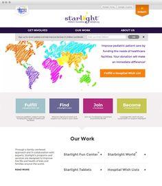 Starlight Children's Foundation www.starlight.org #eCommerce http://www.guidance.com/work/starlight-childrens-foundation