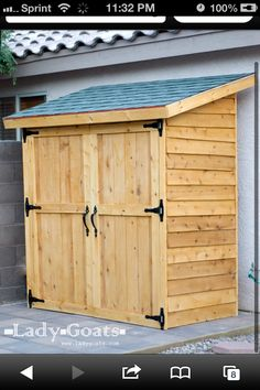 Shed for the kids crap